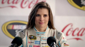 Coca-Cola TV Spot, 'Interview' Featuring Danica Patrick - 16 commercial airings