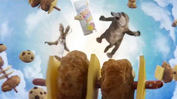 Lunchables Kabobbles TV Spot, 'Bull Ride' - Thumbnail 4
