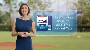 Nasacort Allergy 24HR TV Spot, 'Baseball Game' - Thumbnail 6
