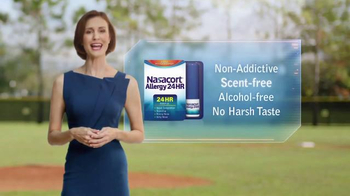 Nasacort Allergy 24HR TV Spot, 'Baseball Game' - Thumbnail 7