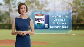 Nasacort Allergy 24HR TV Spot, 'Baseball Game' - Thumbnail 8