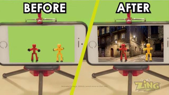 StikBot Studio Pro TV Spot, 'Magic of Green Screen' - Thumbnail 7