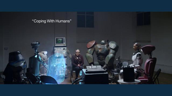 IBM TV Spot, 'Coping With Humans: Support Group for Bots' Ft. Carrie Fisher - 30 commercial airings