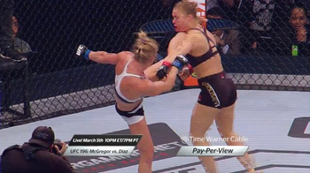 Time Warner Cable On Demand TV Spot, 'UFC 196: McGregor vs. Diaz' - Thumbnail 3