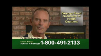 Lincoln Heritage Funeral Advantage TV Spot, 'Facts' - Thumbnail 6