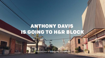 H&R Block TV Spot, 'Drift Into Savings' Ft. Anthony Davis - Thumbnail 2