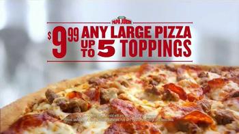 Papa John's TV Spot, 'Pile on the Toppings' - Thumbnail 6
