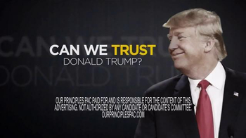 Our Principles PAC TV Spot, 'Trump Questions' - Thumbnail 7