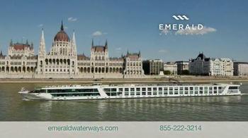 Emerald Waterways TV Spot, 'Fly Free to Europe' - Thumbnail 1