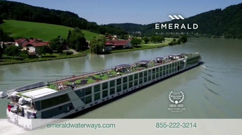 Emerald Waterways TV Spot, 'Fly Free to Europe' - Thumbnail 2