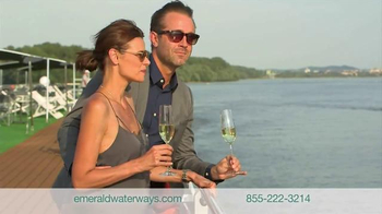 Emerald Waterways TV Spot, 'Fly Free to Europe' - Thumbnail 3