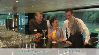 Emerald Waterways TV Spot, 'Fly Free to Europe' - Thumbnail 4