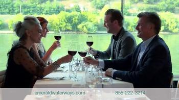 Emerald Waterways TV Spot, 'Fly Free to Europe' - Thumbnail 6