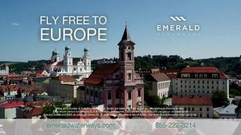 Emerald Waterways TV Spot, 'Fly Free to Europe' - Thumbnail 7