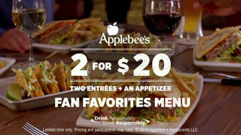 Applebee's Quesadilla Burger TV Spot, 'Mind Blown' - Thumbnail 10