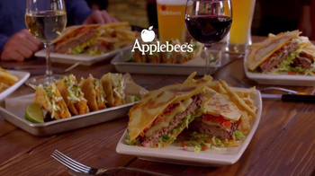 Applebee's Quesadilla Burger TV Spot, 'Mind Blown' - Thumbnail 8