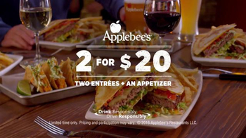 Applebee's Quesadilla Burger TV Spot, 'Mind Blown' - Thumbnail 9