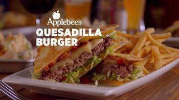 Applebee's Quesadilla Burger TV Spot, 'Mind Blown'