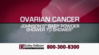 Dudley DeBosier TV Spot, 'Talc Powder Ovarian Cancer' - Thumbnail 3