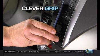 Clever Grip TV Spot, 'No More Fumbling' - 397 commercial airings