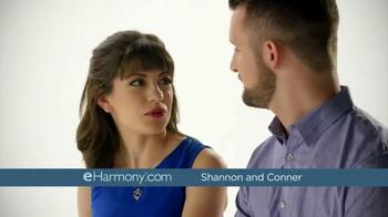 eHarmony TV Spot, 'Fast or Forever: Shannon & Conner' - Thumbnail 1