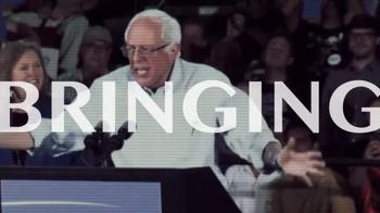 Bernie 2016 TV Spot, 'Vote Together' - Thumbnail 9