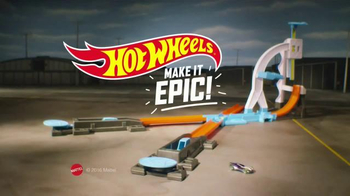 Hot Wheels Track Builder Stunt Kit TV Spot, 'Make It Epic!' - Thumbnail 10