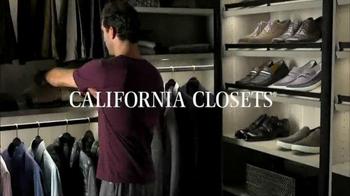 California Closets TV Spot, 'Great Design Simplifies Life' - Thumbnail 1
