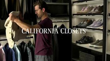 California Closets TV Spot, 'Great Design Simplifies Life'