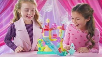 Disney Princess Little Kingdom Ariel's Sea Castle TV Spot, 'Slide & Swing' - 732 commercial airings
