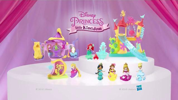 Disney Princess Little Kingdom Ariel's Sea Castle TV Spot, 'Slide & Swing' - Thumbnail 8
