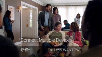 Time Warner Cable Home Wi-Fi TV Spot, 'Open House' - Thumbnail 3