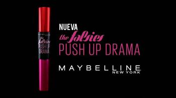 Maybelline New York Push Up Drama TV Spot, 'Pestañas' [Spanish] - Thumbnail 4