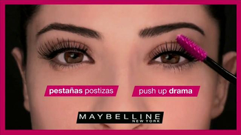 Maybelline New York Push Up Drama TV Spot, 'Pestañas' [Spanish] - Thumbnail 6