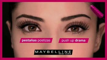 Maybelline New York Push Up Drama TV Spot, 'Pestañas' [Spanish] - Thumbnail 7