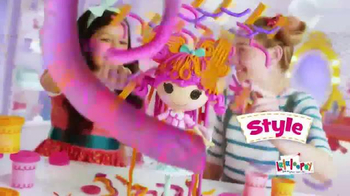 Lalaloopsy Hair-Dough Activity Doll TV Spot, 'Make It Grow' - Thumbnail 3