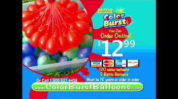 Battle Balloons Color Burst TV Spot, 'Bursting With Color' - Thumbnail 10