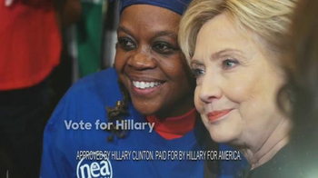 Hillary for America TV Spot, 'Stand' - Thumbnail 10