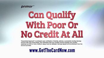 primor Secured Visa Gold Card TV Spot, 'Get Back on Track' - Thumbnail 1