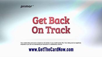 primor Secured Visa Gold Card TV Spot, 'Get Back on Track' - Thumbnail 3
