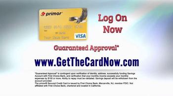 primor Secured Visa Gold Card TV Spot, 'Get Back on Track' - Thumbnail 6