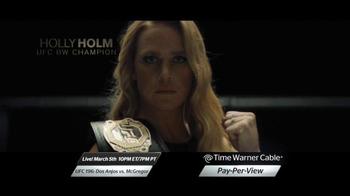 Time Warner Cable On Demand TV Spot, 'UFC 196: Dos Anjos vs. McGregor' - Thumbnail 5