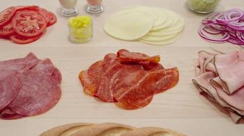 Arby's Loaded Italian TV Spot, 'Antipasto Salad' - Thumbnail 2
