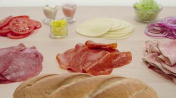 Arby's Loaded Italian TV Spot, 'Antipasto Salad' - Thumbnail 3