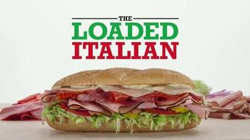 Arby's Loaded Italian TV Spot, 'Antipasto Salad' - Thumbnail 4