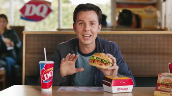 Dairy Queen Bakes! Chicken Bruschetta TV Spot, 'High-End Italian Sandwich' - 5402 commercial airings