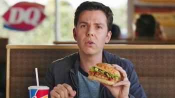 Dairy Queen Bakes! Chicken Bruschetta TV Spot, 'High-End Italian Sandwich' - Thumbnail 5