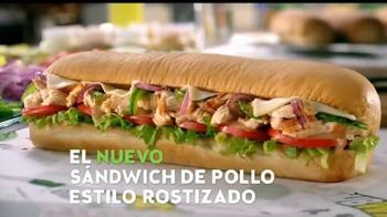 Subway Sandwich de Pollo Estilo Rostizado TV Spot, 'Tu Tablet' [Spanish] - Thumbnail 7