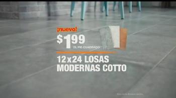 The Home Depot TV Spot, 'La nueva generación de losas' [Spanish] - Thumbnail 9