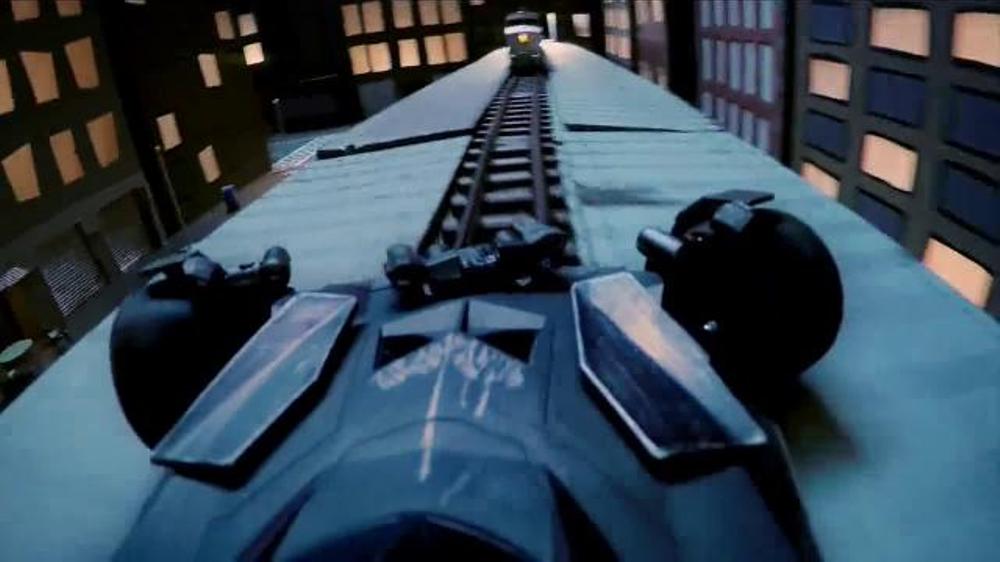 Air Hogs RC Batmobile TV Commercial Chase Through Gotham